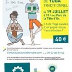 Lyon : stage de yoga pour tous