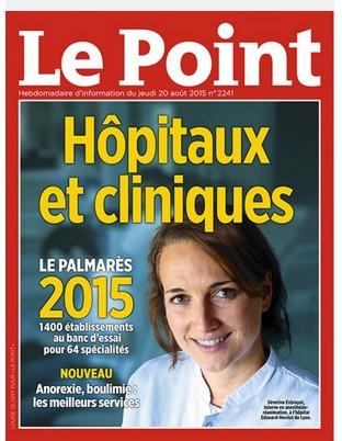 Palmarès 2015 des hôpitaux : les CHU de Lille et Toulouse en haut du podium