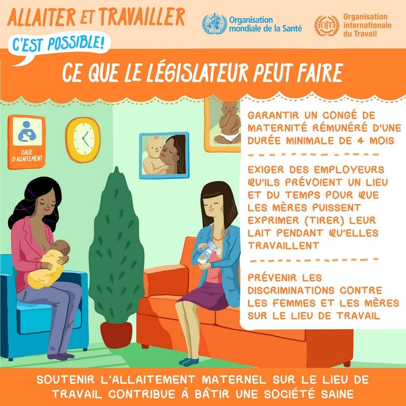 Allaitement maternel : une semaine mondiale pour promouvoir ses bienfaits
