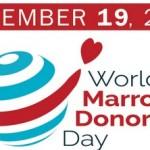 1ère Journée mondiale du don de moelle osseuse, le 19 septembre 2015