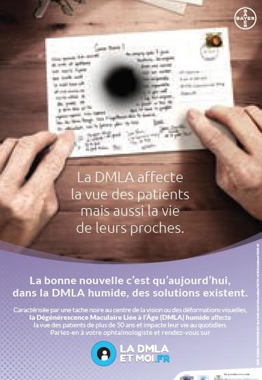 DMLA : une campagne vidéo pour sensibiliser le grand public