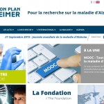 Un nouveau site internet pour la Fondation Plan Alzheimer