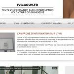 IVG : lancement d'un numéro national d'information