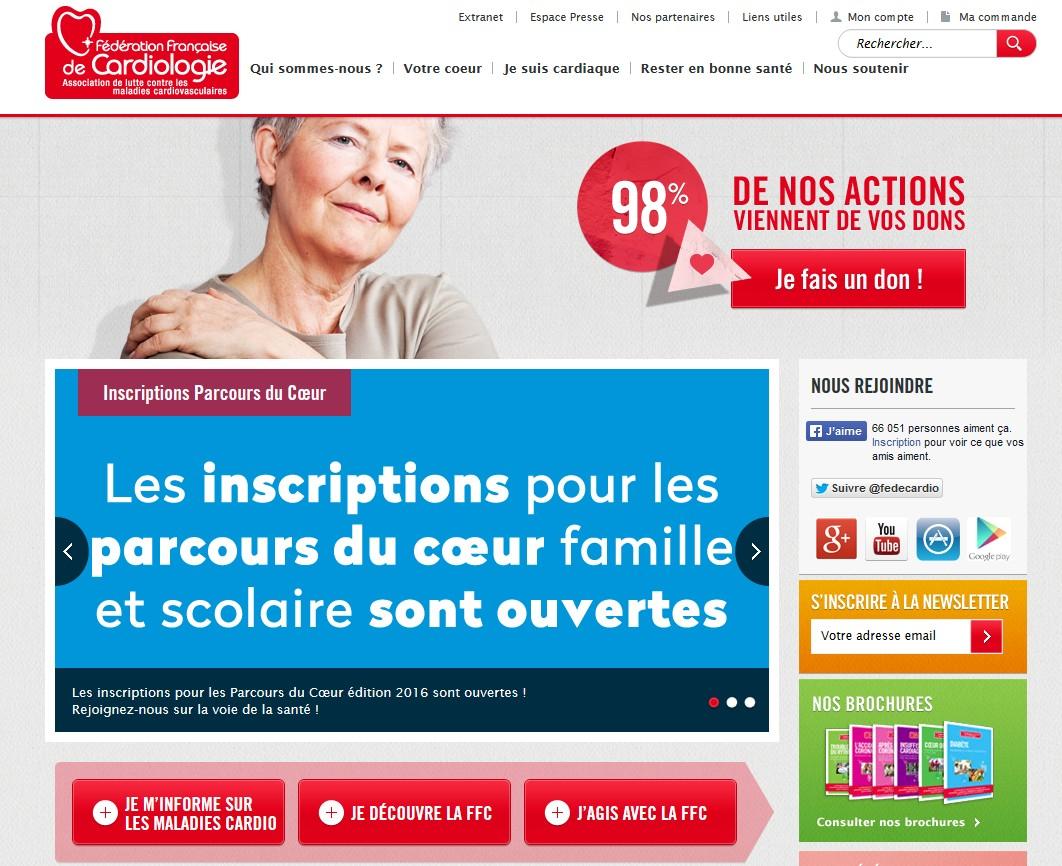 Le site www.fedecardio.org