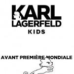 Collection Karl Lagerfeld Kids en avant-première mondiale