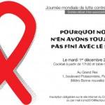 Grand Rex : journée mondiale contre le sida le 1er décembre