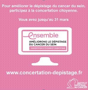 Dépistage du cancer du sein : plus que quelques jours pour donner votre avis !