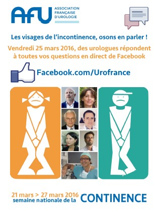 Chat Facebook spécial Incontinences