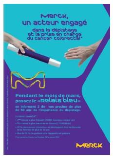 Cancer du côlon : « Relais Bleu », une opération pour informer vos proches