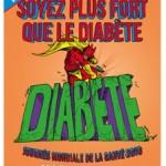 Journée mondiale de la Santé : mobilisation contre l'épidémie de diabète
