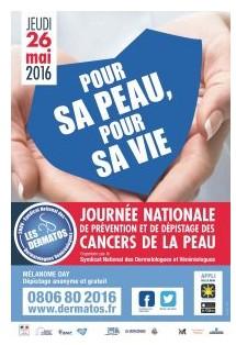 Cancers de la peau : une journée national pour mieux les dépister