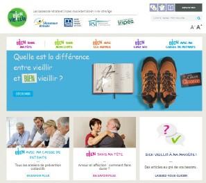 le site « pourbienvieillir.fr »