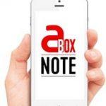 aBox Note : une application santé pour être accompagné en temps réel