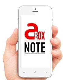 aBox Note : une application santé pour être accompagné en temps rée