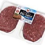 Rappel de steaks hachés frais contaminés par la bactérie E. coli.