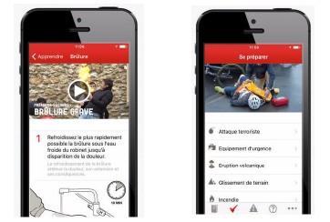L'« Appli qui sauve » de la Croix-Rouge française