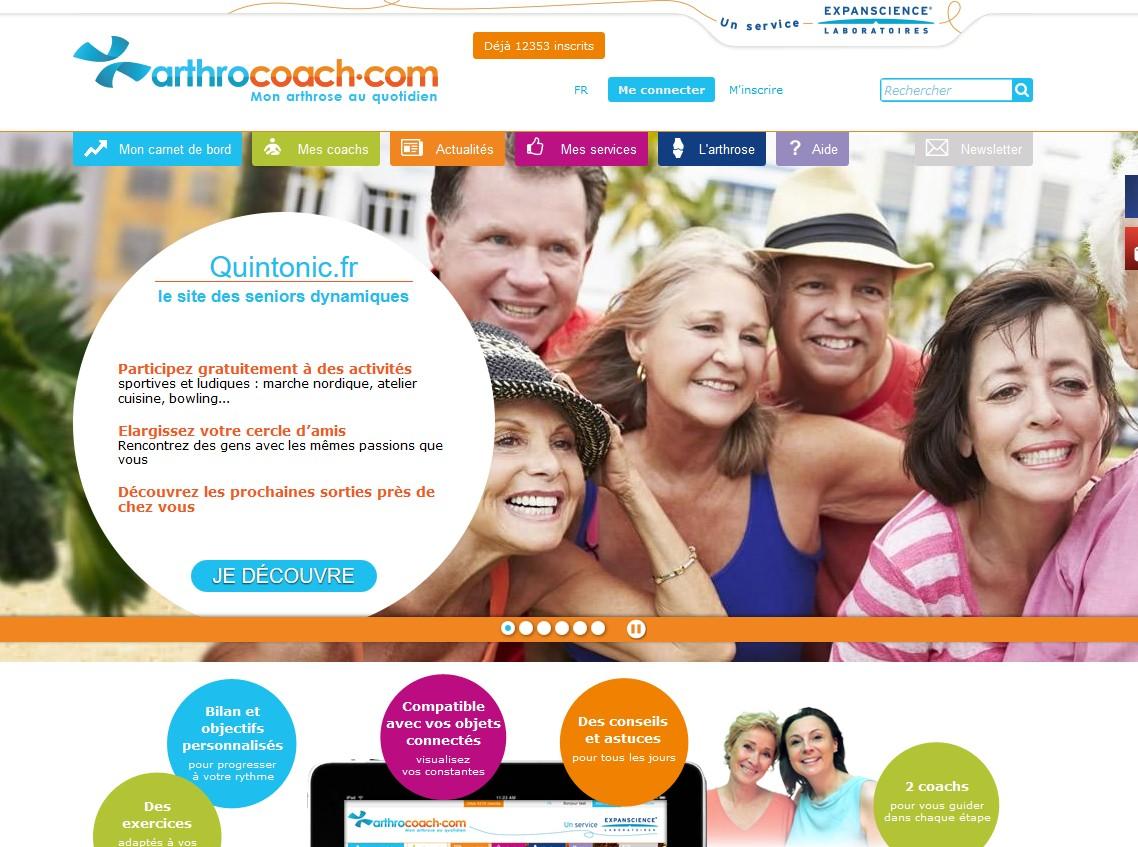 Arthrose : Arthrocoach.com enrichit son offre d'activités et de sorties