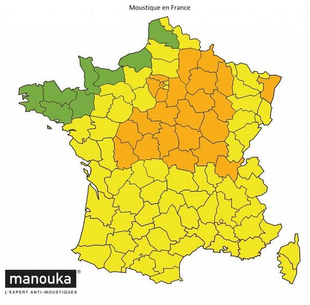 La saison des moustiques a commencé sur une grande partie du territoire français