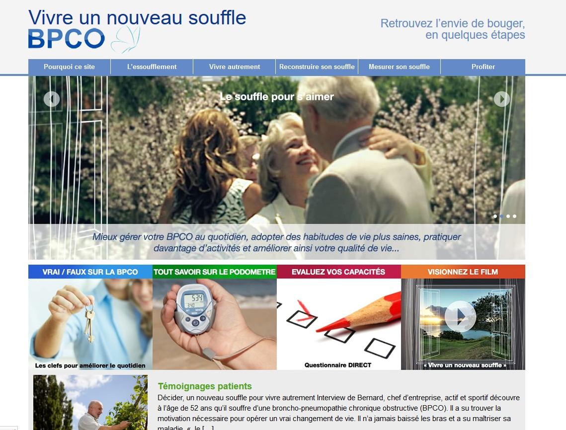 le site internet www.vivreunnouveausouffle.fr