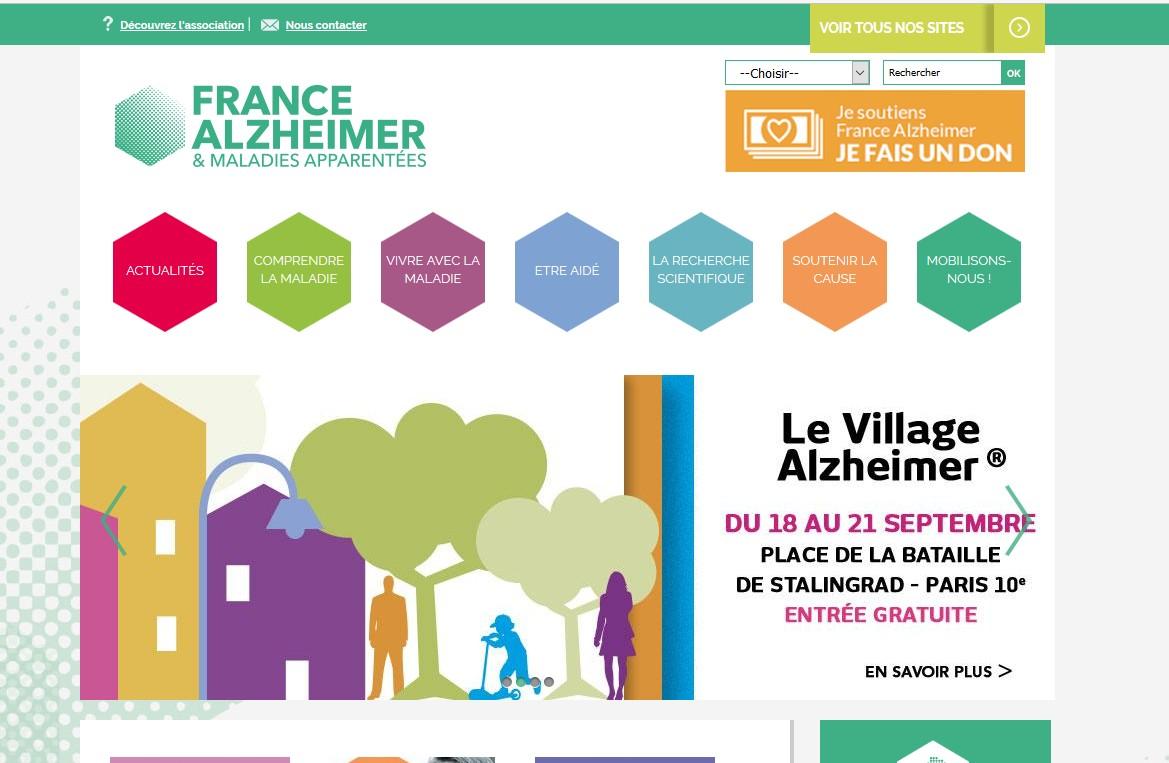 Le site de France Alzheimer