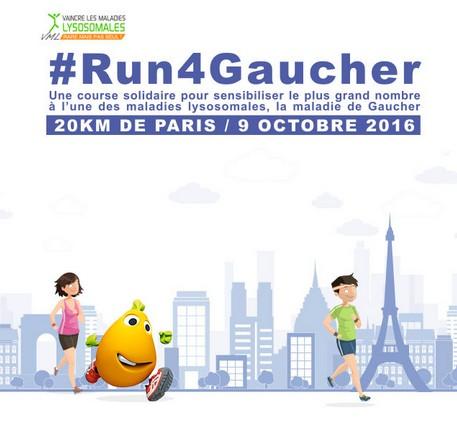 Journée Internationale de la maladie de Gaucher : rejoignez le mouvement #Run4Gaucher