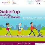 Relevez le défi « Diabet'up : Bougeons contre le diabète »