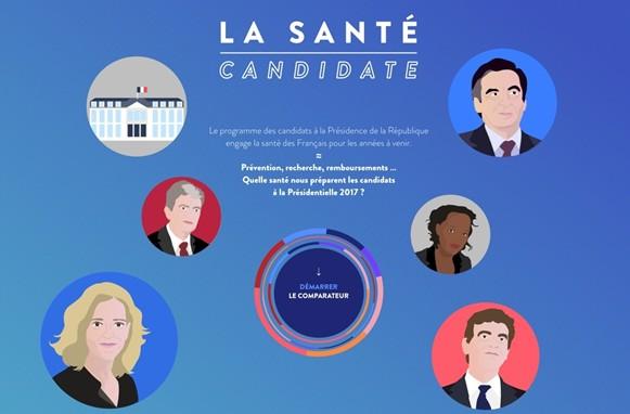 Santé : comparez le programme des candidats à la présidentielle de 2017