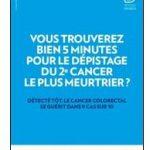 Cancer colorectal : une campagne pour encourager au dépistage