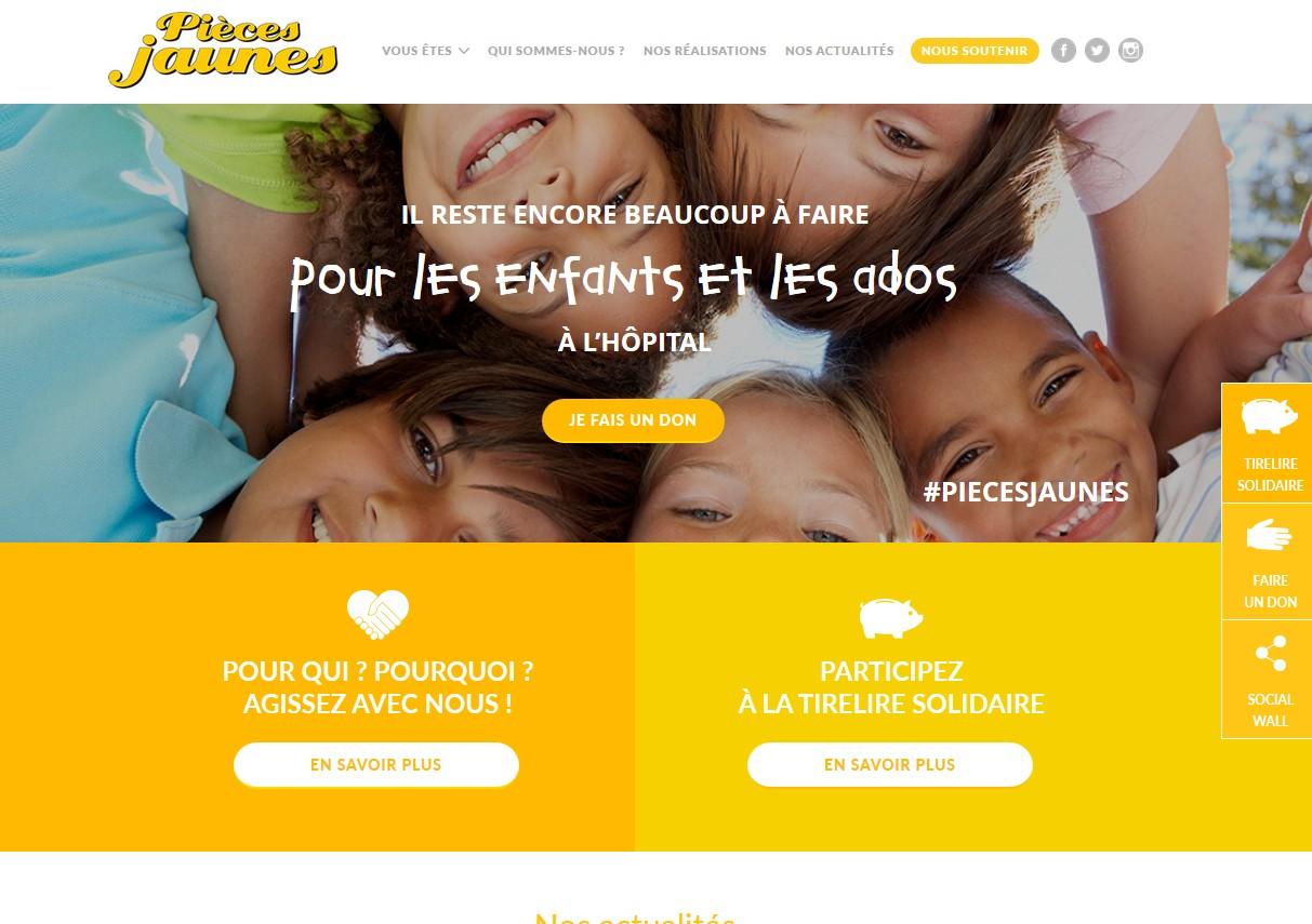 Le site des Pièces Jaunes