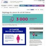 Le cancer du col de l'utérus peut être évité dans 9 cas sur 10