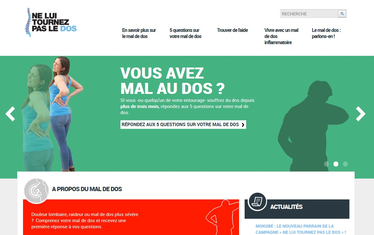 Le site www.neluitournezpasledos.fr