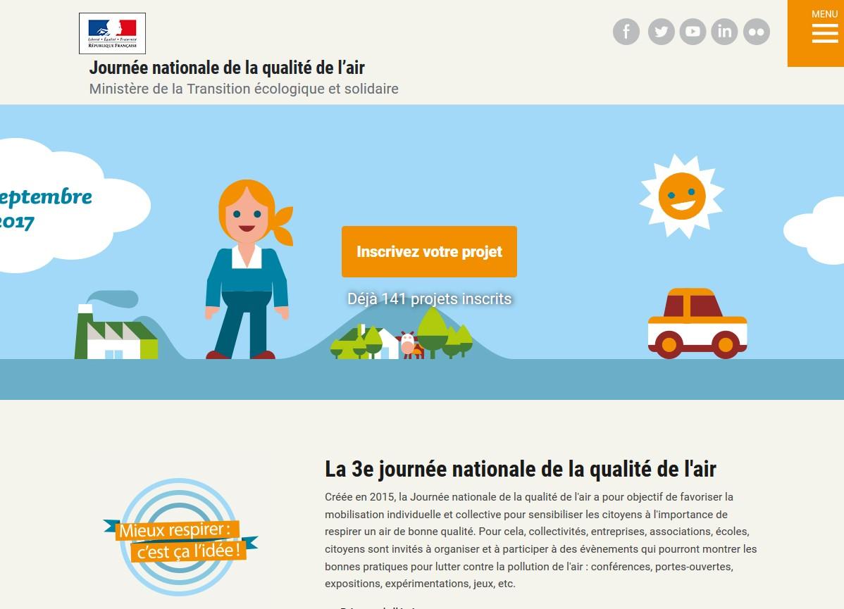 La plateforme dédiée du site du ministère de la Transition écologique et solidaire.