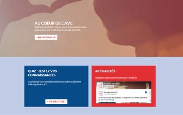 « Au Cœur de l'AVC », un site pour mieux comprendre