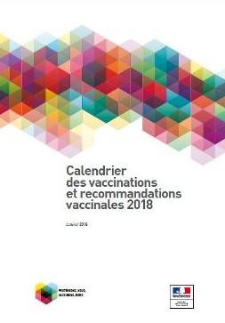 Le nouveau calendrier des vaccinations 2018