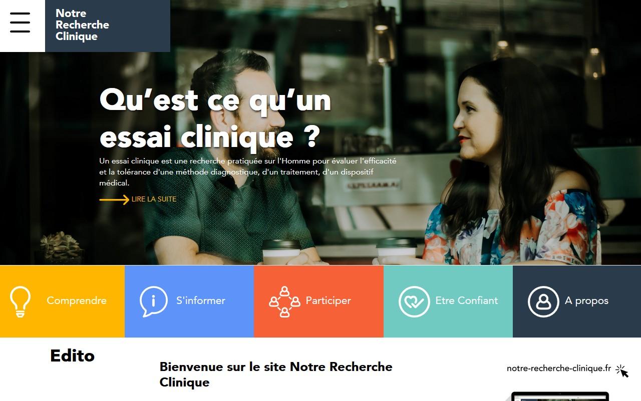 le site notre-recherche-clinique.fr