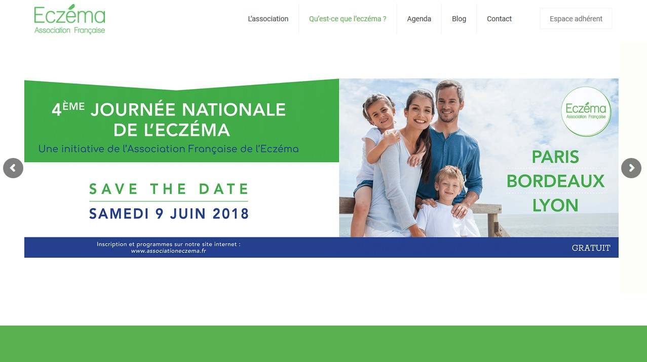 Le site de l'Association : associationeczema.fr