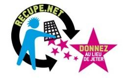 Donner au lieu de jeter sur Recupe.net