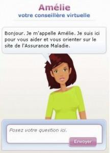 Amélie, la nouvelle conseillère virtuelle du site de l'Assurance Maladie
