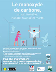 Monoxyde de carbone : 5000 intoxications chaque année