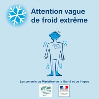 Vague de grand froid: des précautions s'imposent !