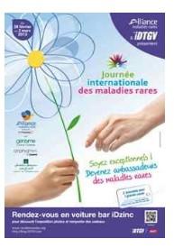 La Journée internationale des maladies rares se déroulera le 28 février 2013