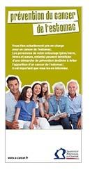 Prévention du cancer de l'estomac : une nouvelle brochure d'information