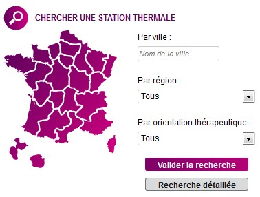 Stations thermales en France
