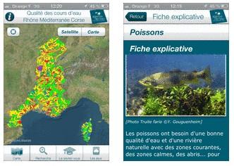 Consultez la qualité des rivières sur votre smartphone !