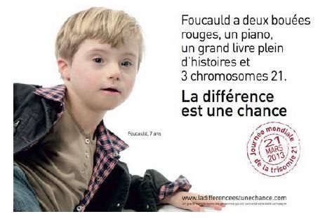 2ème journée mondiale de la Trisomie 21, le 21 mars 2013