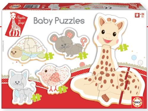 Baby Puzzle Sophie la girafe Educa