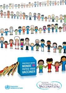 La Semaine mondiale de la vaccination débute le 20 avril 2013