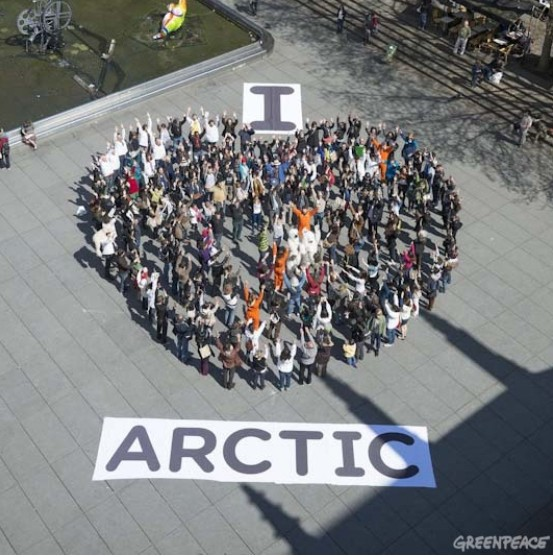 I love Arctic - Green peace