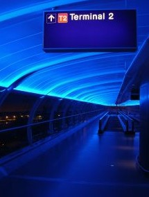terminal d'aéroport