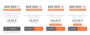 box running
